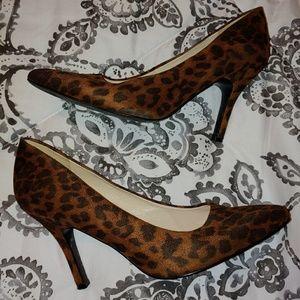 Nine West leopard high heels